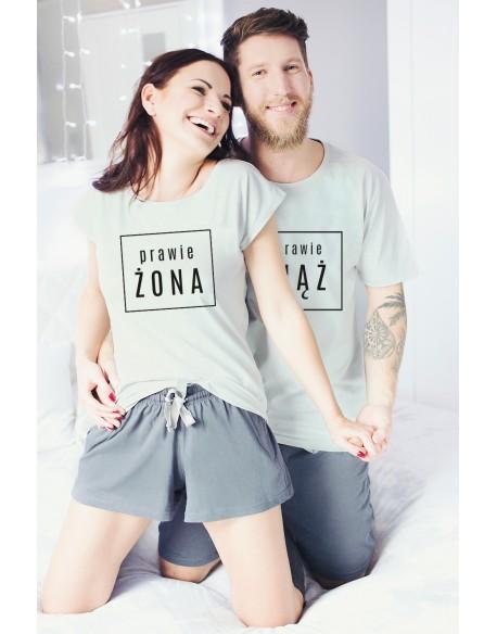 Piżamy dla pary Prawie