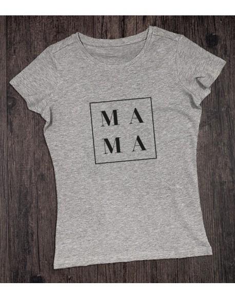 Koszulka dla mamy MAMA szara