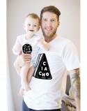 Koszulka i body/koszulka dla taty i dziecka Ciacho/ ciasteczko