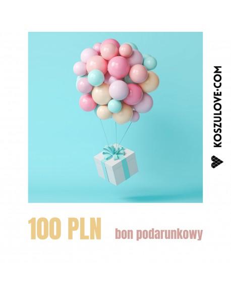 BON PODARUNKOWY do wydruku 100 zł