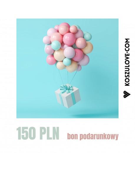 BON PODARUNKOWY do wydruku 150 zł