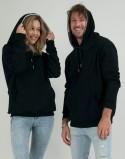 Bluzy dla pary czarne PL zdjęcie