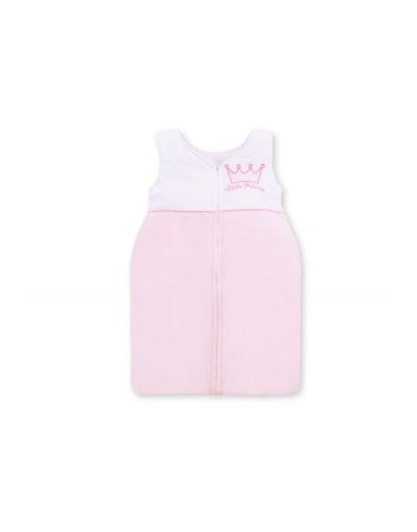 Śpiworek niemowlęcy- Little Prince/Princess różowy