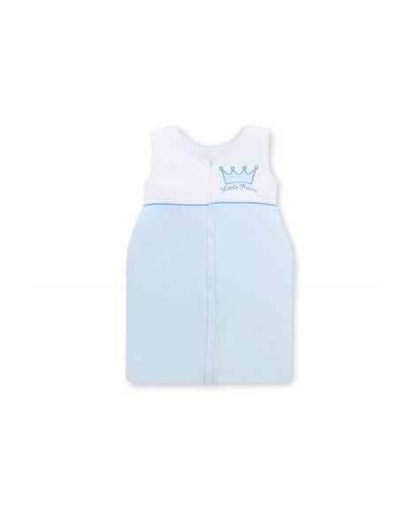Śpiworek niemowlęcy- Little Prince/Princess niebieski