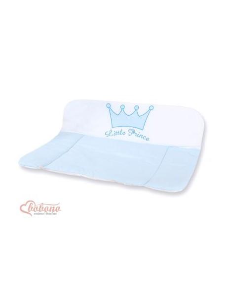 Przewijak miękki na komodę- Little Prince/Princess niebieski