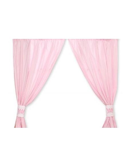 Zasłonki do pokoju dziecięcego- Little prince/Princess różowe