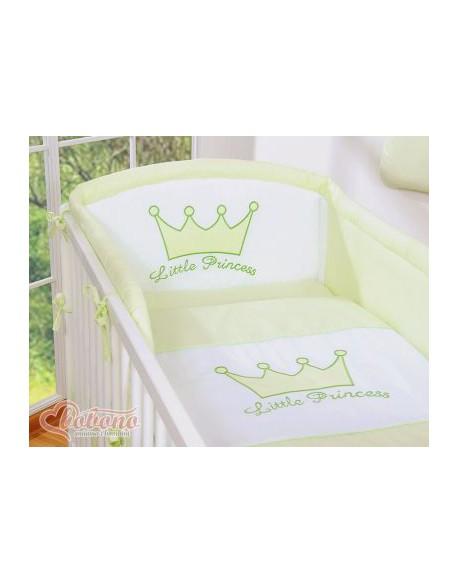 Ochraniacz uniwersalny 120x60cm- Little Prince/Princess zielony