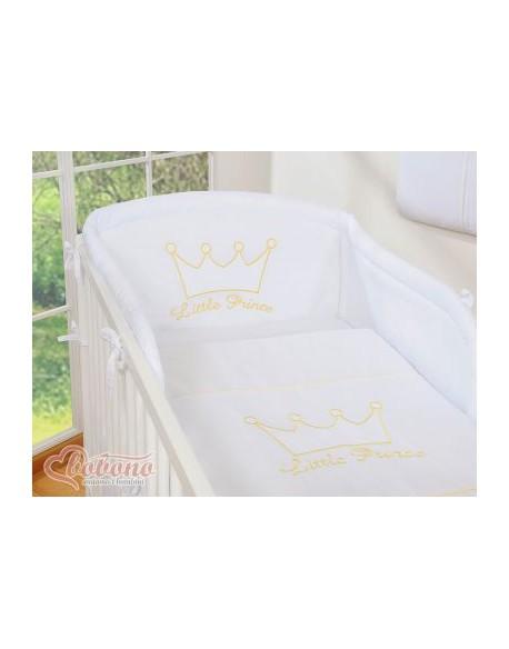 Pościel 3-cz- Little Prince/Princess białe
