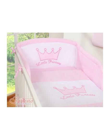 Pościel 3-cz- Little Prince/Princess różowa