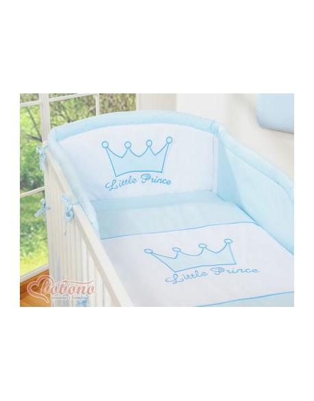 Pościel 3-cz- Little Prince/Princess niebieskie