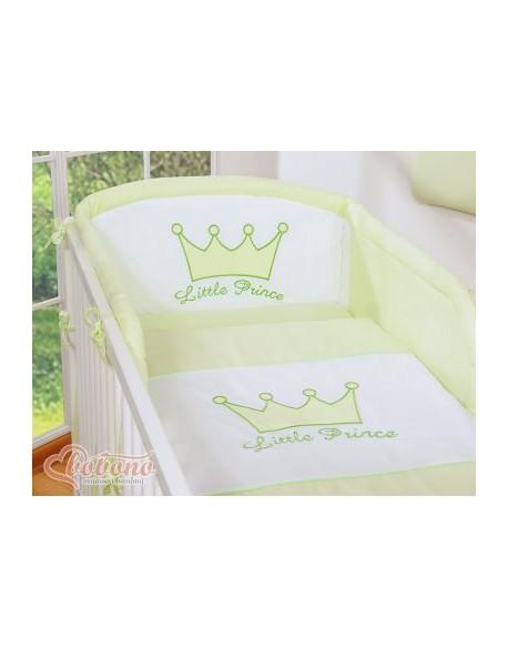 Pościel 3-cz- Little Prince/Princess zielony