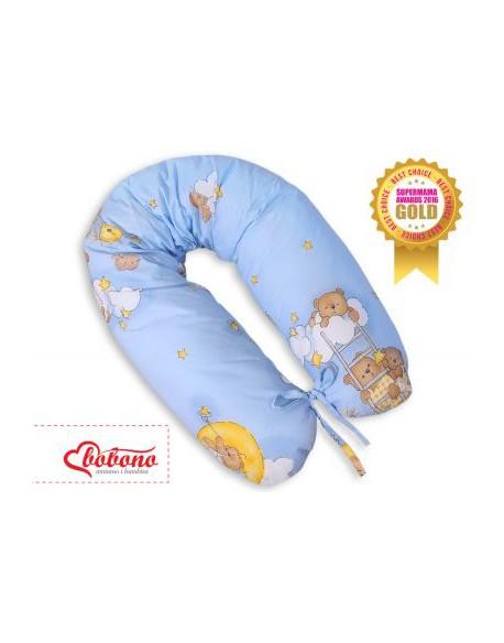 Poduszka ciążowa Longer- Drabinki niebieskie