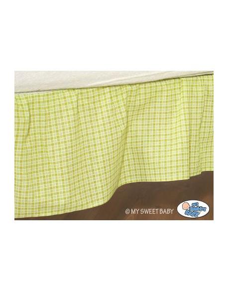 Falbanka maskująca 120x60cm- Dobranoc zielone