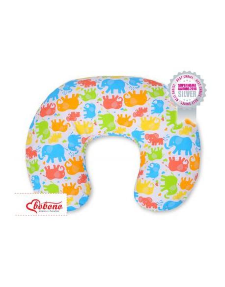 Poduszka do karmienia- Kolorowe słonie