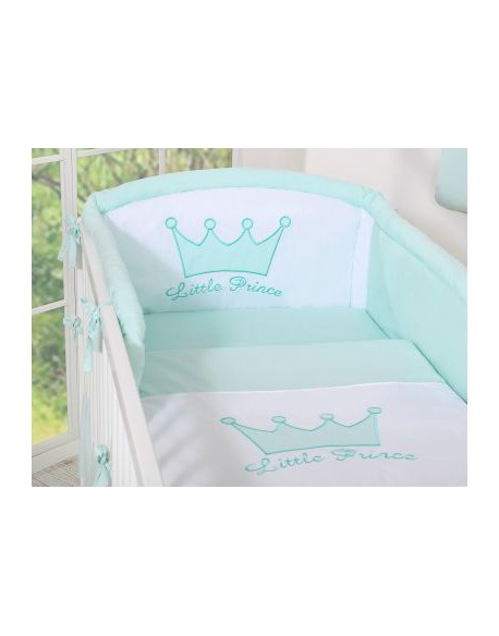 Pościel 3-cz- Little Prince/Princess miętowy