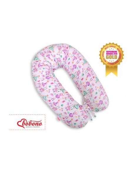 Poduszka ciążowa longer - baletnice fioletowe