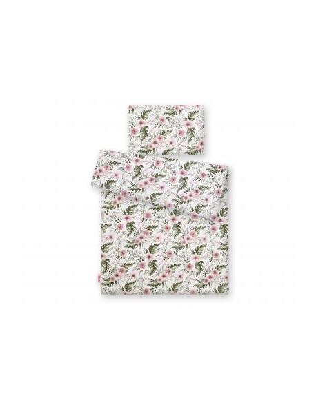 Pościel 2-cz - peonie różowe