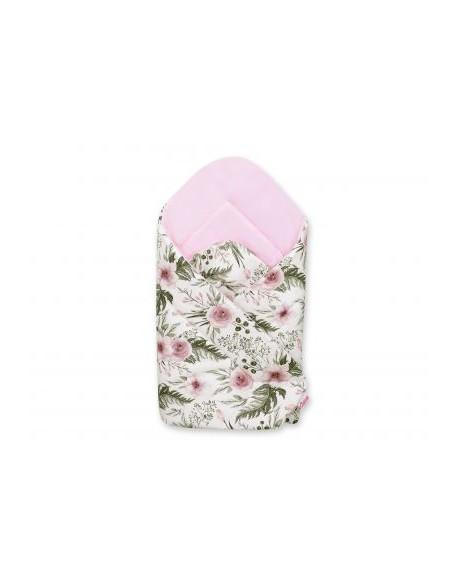 Rożek miękki - peonie różowe