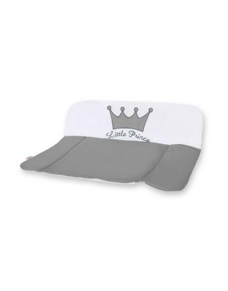 Przewijak miękki na komodę- Little Prince/Princess antracyt
