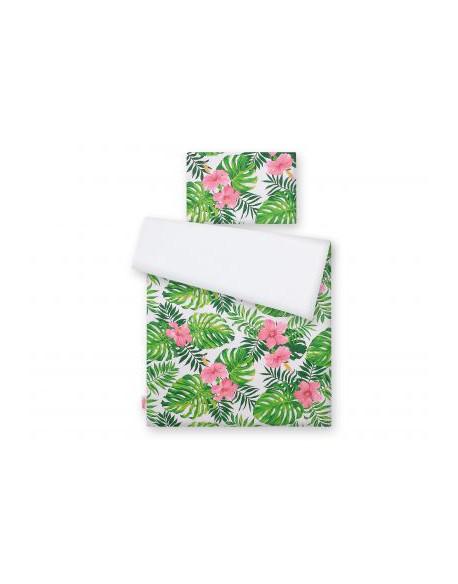 Pościel 2-cz - kwiaty tropikalne