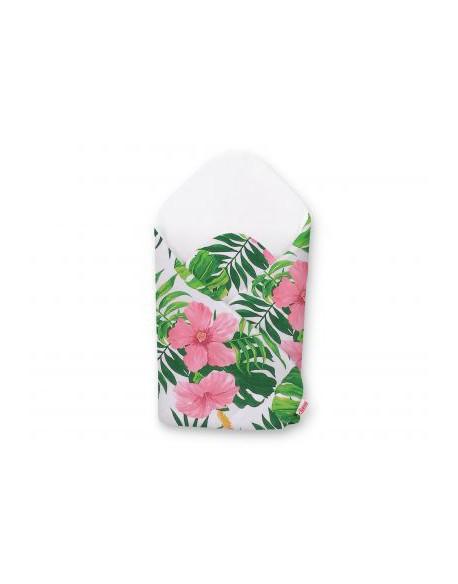 Rożek usztywniany - kwiaty tropikalne