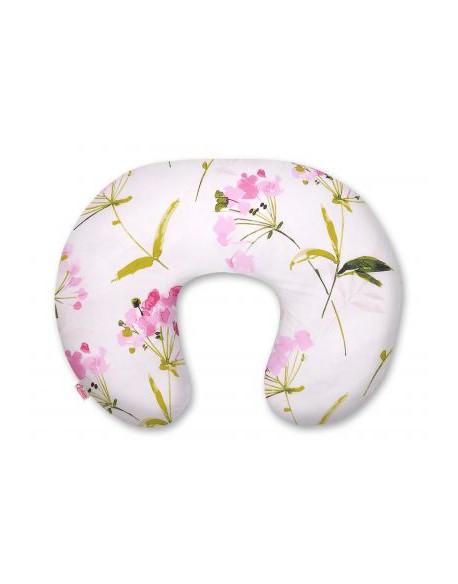 Poduszka do karmienia - flowers różowe