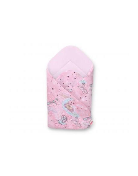 Rożek miękki - jednorożce różowe/rożowy
