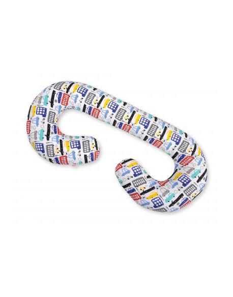 Poduszka ciążowa C - autka kolorowe