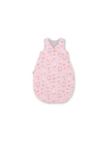 Śpiworek niemowlęcy - króliczki baletnice różowe