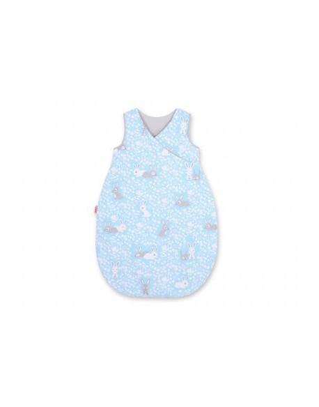 Śpiworek niemowlęcy - króliczki niebieskie