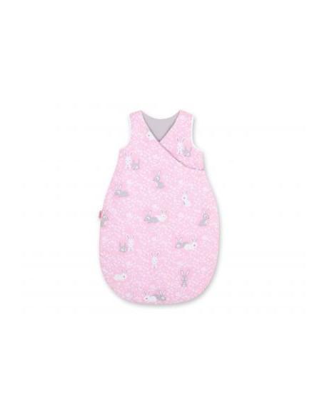 Śpiworek niemowlęcy - króliczki różowe