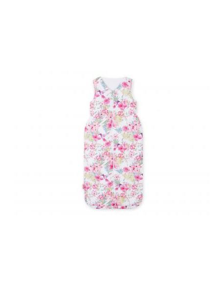 Śpiworek niemowlęcy XXL- koliberki w kwiatach