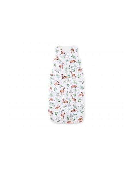 Śpiworek niemowlęcy XXL- sarenki białe
