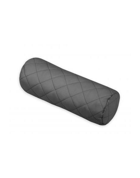 Dekoracyjna poduszka wałek - antracyt