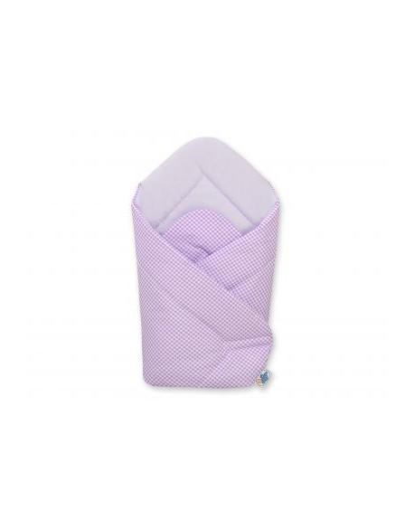 Rożek miękki - Miś z kokardką fioletowy