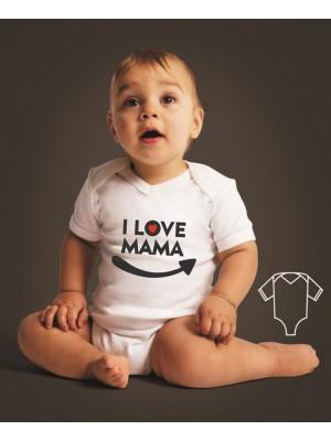Body/koszulka dla córki/syna I love mama