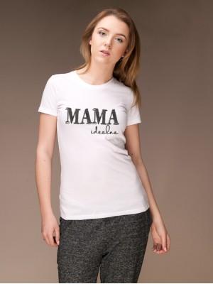Koszulka Mama idealna