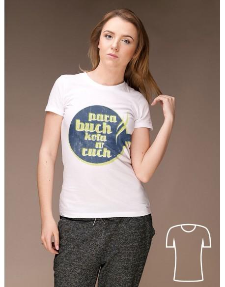 Koszulka Para buch koła w ruch