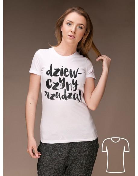 Koszulka Dziewczyny rządzą