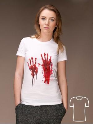 Koszulka Krwawe ślady