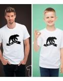 Koszulki dla taty i syna Jaki ojciec taki syn
