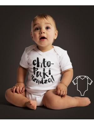 Body/koszulka z nadrukiem Chłopaki rządzą