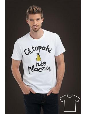 Koszulka dla taty Chłopaki nie płaczą