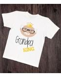 Koszulka dla Dziadka Dziadek Król