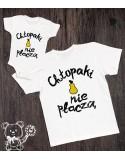Koszulki dla taty i syna Chłopaki nie płaczą