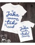 Koszulka i body dla mamy i córeczki Jaka mama taka córka