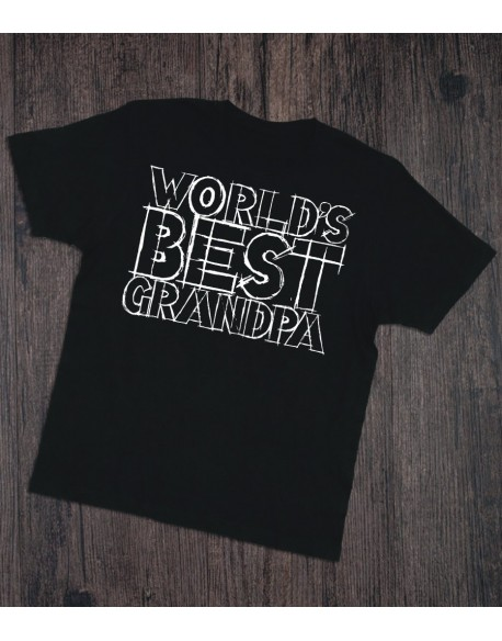 Koszulka dla dziadka World's best grandpa