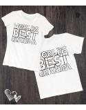 Koszulki dla babci i dziadka World's best