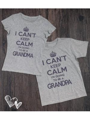 Koszulki dla babci i dziadka I can't keep calm
