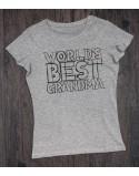 Koszulka dla babci World's best grandma
